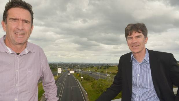 """Councillors John Watson and Wayne Walker say as far as residents are concerned  who owns the road is academic. """"It's who ..."""