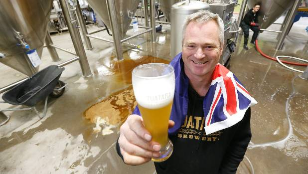 Tuatara head brewer Carl Vasta has plenty to toast after the brewery he founded in his Waikanae backyard 16 years ago ...