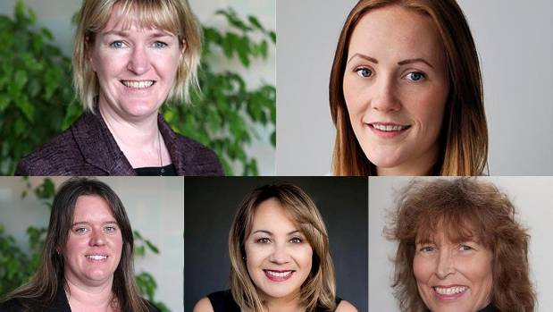 Women councillors on the Invercargill City Council, 2016-2018.