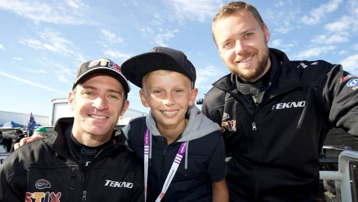 Son of NZ driver who died at Bathurst gets to go on parade