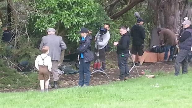 Filming of Dear Murderer - a five-part series on Bungay.