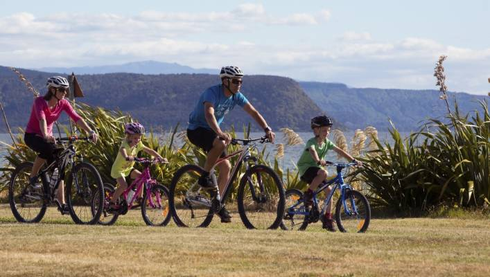The Great Lake Trail in Taupō is popular with visitors and locals alike (file photo).