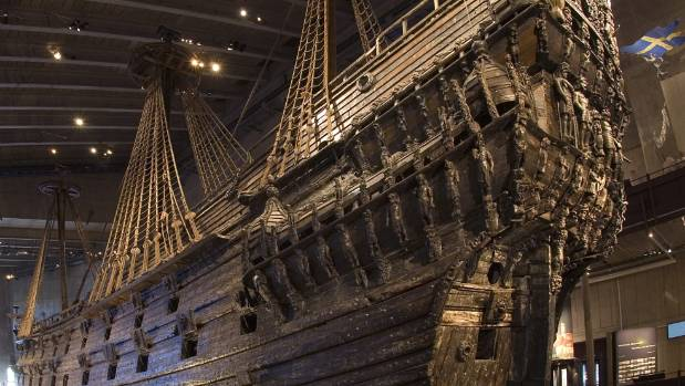The Vasa Museum is one of the most popular attractions in Stockholm.