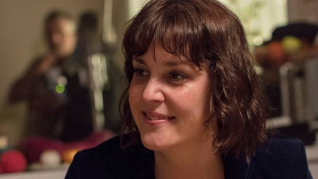 Melanie Lynskey says she has enjoyed her fortnight on the Christchurch-based set of The Changeover.
