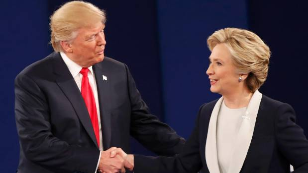 Donald Trump and Hillary Clinton were 'good mates' once upon a time.