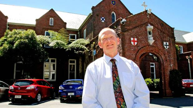 St Patrick's Silverstream rector Gerard Tully says the school will work with the four students, who are allowed to go ...