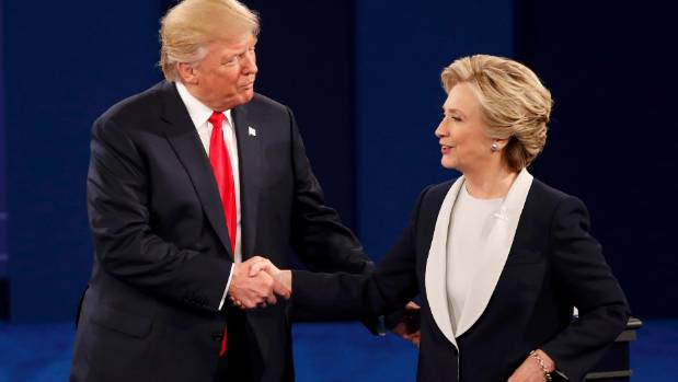 Trump and Clinton meet for the third debate in Las Vegas on Thursday afternoon (NZ time).