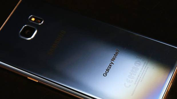 Spark have notified customers of the first reported case of a Samsung Galaxy Note7 exploding in New Zealand.