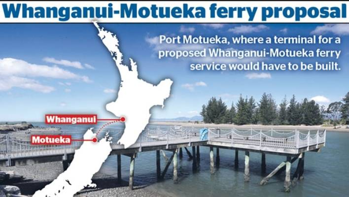 Strong support for new Motueka-Whanganui ferry link proposal