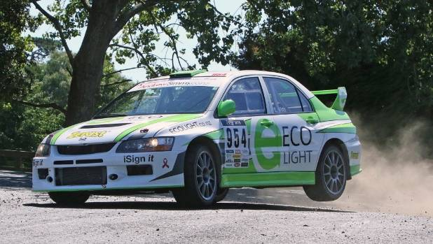 The two-day Targa Hawke's Bay rally includes stages from north of Napier to south of Woodville.