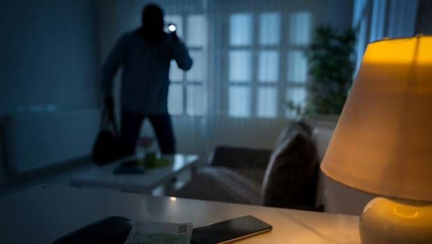 Burglars, when caught, are unlikely to be jailed, official information reveals.