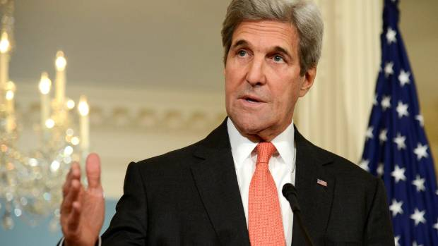 John Kerry, US Secretary of State, will be in Antarctica when his country's presidential election results are known.