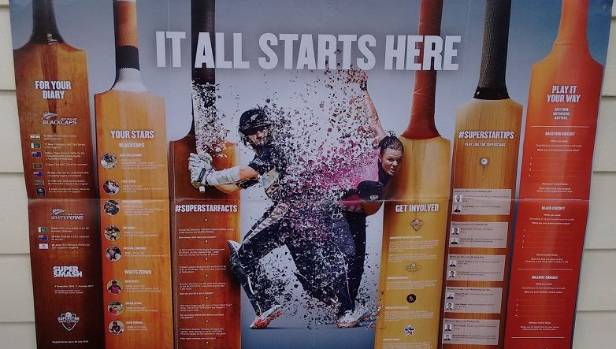 Does it all start here for the alcohol industry?  Horiana Henderson believes Black Caps promotional posters are ...