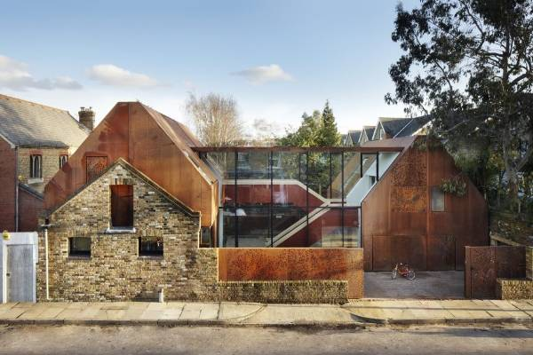 Grand Designs London House For Sale Comes With Inside Slide Stuff