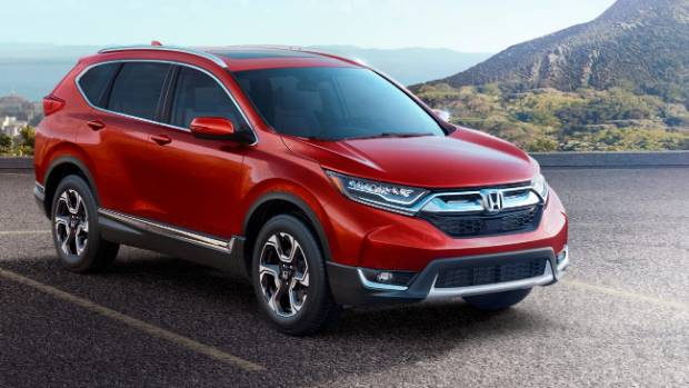 honda unveils new cr v stuff co nz