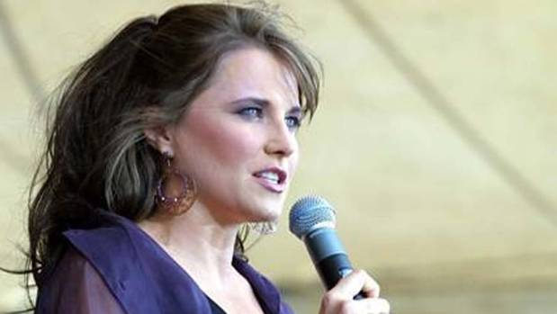 Actor and environmental activist Lucy Lawless, whose father Frank Ryan has died.