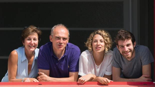 Short Edition creators  Isabelle Pleple, Christophe Sibieude, Sylvia Tempesta and Quentin Pleple