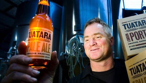 Tuatara master brewer Carl Vasta led the Paraparaumu-based brewery to winning the supreme award at the Brewers Guild of ...