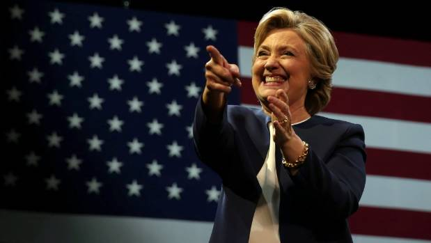 Despite the scandals, Clinton looks set to beat rival Donald Trump for the presidency in a few weeks' time.