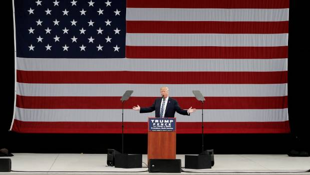 Republican US presidential nominee Donald Trump has been fighting off his own controversies.