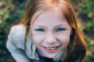 My daughter was self-conscious and she was nervous. She was eight. When did this happen?