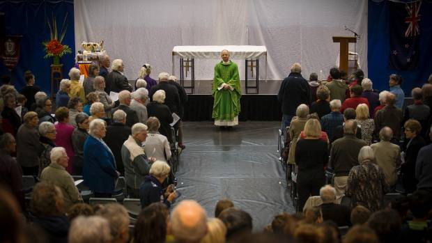 The TSB Stadium was the venue for a special Sunday mass to celebrate the unity of the Catholic church, a year on from ...
