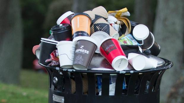 Most people are under the misconception that disposable coffee cups are recyclable.