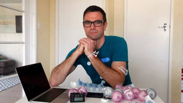 Jamie Bate is part of an online community using technology to improve the life of diabetics.