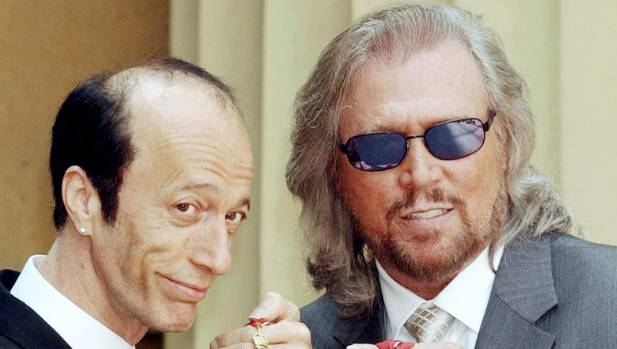 Robin Gibb and Barry Gibb were awarded CBEs (Commander of the Order of the British Empire) in 2004.