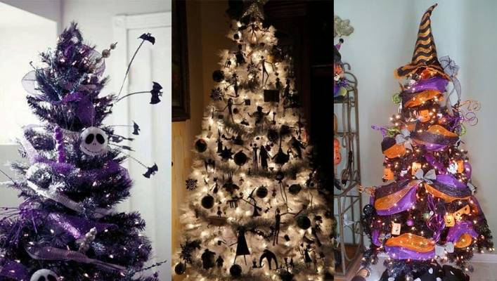 Halloween Christmas Tree.Halloween Christmas Trees Are The New Festive Trend Stuff