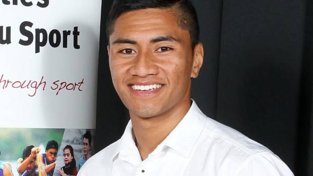 Mafoa'aeata 'Ata' Hingano, pictured in 2014, was awarded the Counties Manukau Junior Sportsman of the Year.