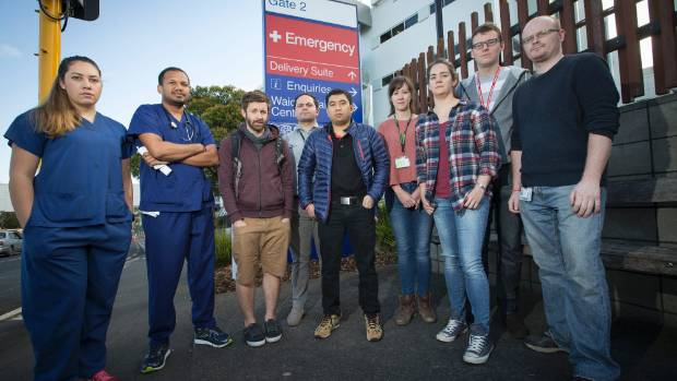 Junior Doctors from Waikato Hospital feel they are overworked.