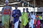 Models at Accra Fashion Week.