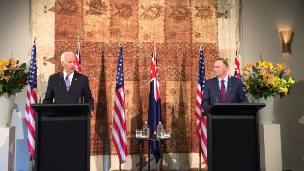 United States Vice President Joe Biden and Prime Minister John Key announced earlier this year that a US Navy vessel ...