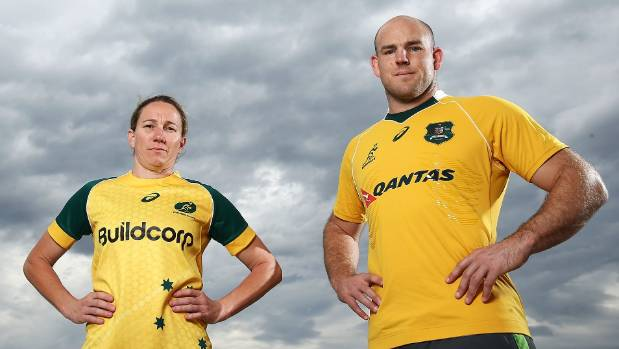 Wallaroos captain Ash Hewson and Wallabies skipper Stephen Moore both face massive tasks against Kiwi opposition at Eden ...