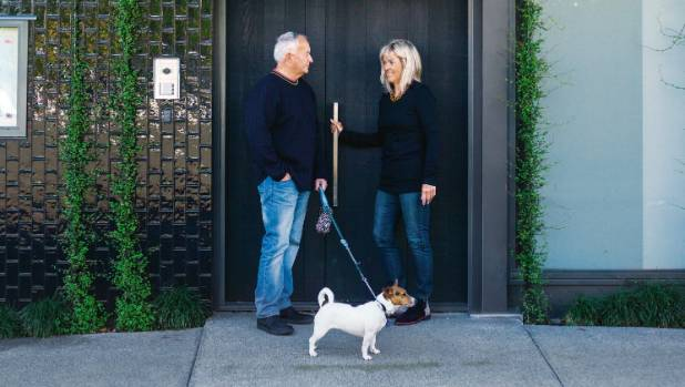 Colin, Lindy and faithful companion Panda love the vibrancy of Ponsonby Road and start most days with a walk and a ...