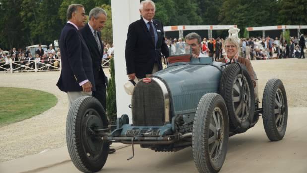 A 1928 Bugatti Type 35B.