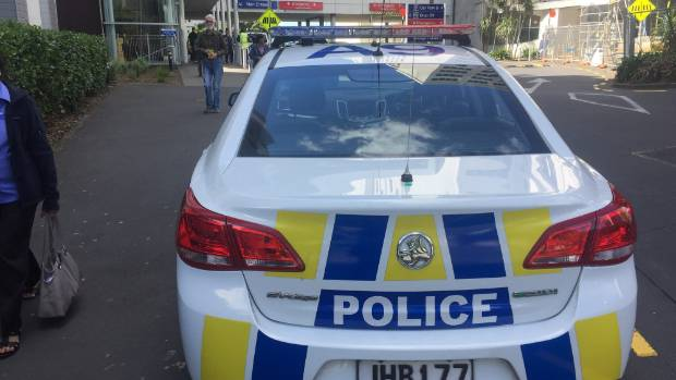 Several police cars are at Auckland Hospital after someone was reportedly stabbed.