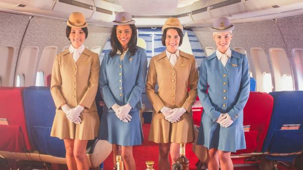 The Pan Am Experience is an outing staged about once a month that mixes faux airline travel with dinner theatre.