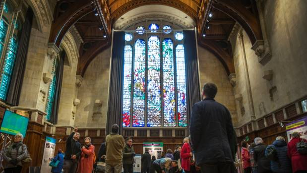 Fletcher Building was involved in restoration of the Great Hall in the Christchurch Arts Centre where it also held its ...