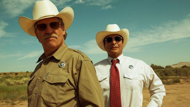 Jeff Bridges and Gil Birmingham make for a hilarious law enforcement partnership in Hell or High Water.