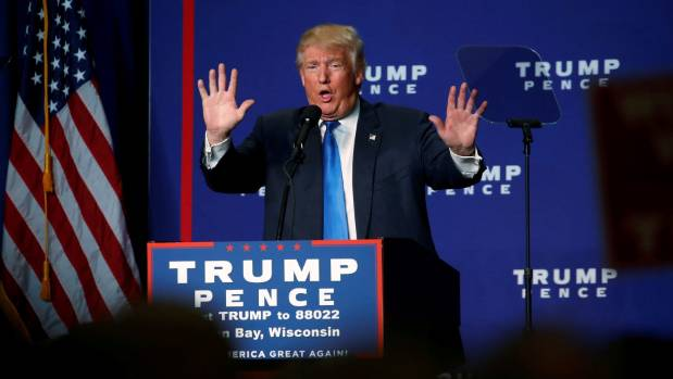 Republican presidential nominee Donald Trump termed the email fallout surrounding rival Hillary Clinton after the ...