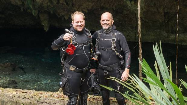 Chris Rittenmeyer, left, and Patrick Peacock, were friends and diving buddies from Florida.