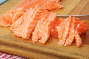 """Your best choices with food to boost your omega-3 intake are """"oily fish"""" such as salmon."""