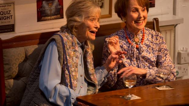 Virginia McKenna bonded with Una Stubbs while filming Golden Years