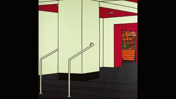 Patrick Caulfield, Foyer, 1973. $680,000 - $1,000,000