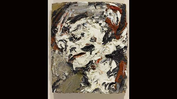 Frank Auerbach, Head of Gerda Boehm, 1965. $500,000 - $850,000