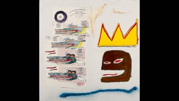 Jean-Michel Basquiat, Untitled, 1984. $850,000 - $1,200,000