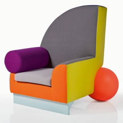 Peter Shire, Bel Air Armchair. $1700 - $2500