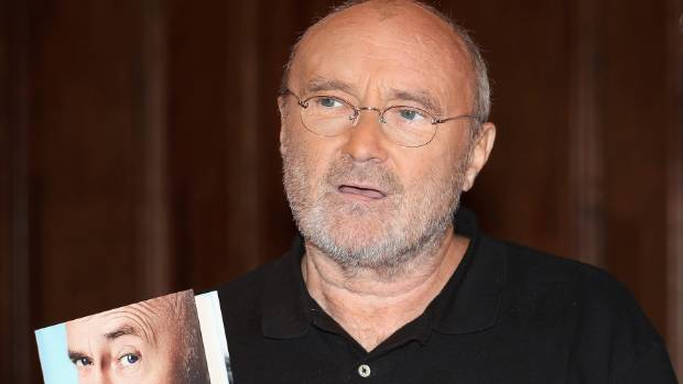 'It took me until the age of 55 to become an alcoholic,' Phil Collins writes in his memoir Not Dead Yet.